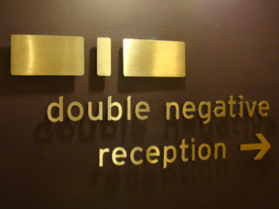 Double Negative, London