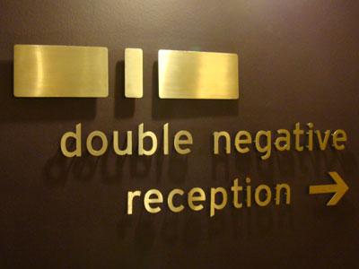 Double Negative, London