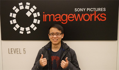 Photo with the Imageworks logo
