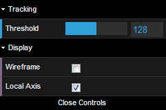 A nice GUI for user options using dat.gui