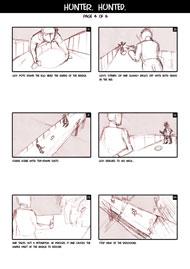 Hunter Hunted Storyboard Page 4