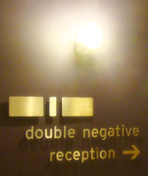 Working at Double Negative in London