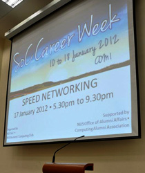 NUS Soc Speed Networking Session 2012