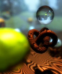 Depth Of Field Using Raytracing